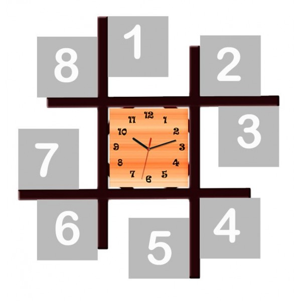 Buy Or Send Personalized Multi Photo Frame With Wall Clock