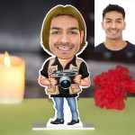 Photographer Caricature Photo Stand In