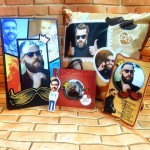Rakhi combo 5 in 1 personalized photo gift King brother theme