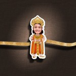Personalized Caricature Photo Rakhi - RK121