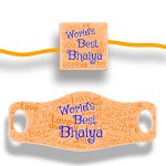 Rakhi and Face Cover Mask Combo World's Best Bhaiya