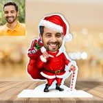 Santa clause Caricature Photo Stand In