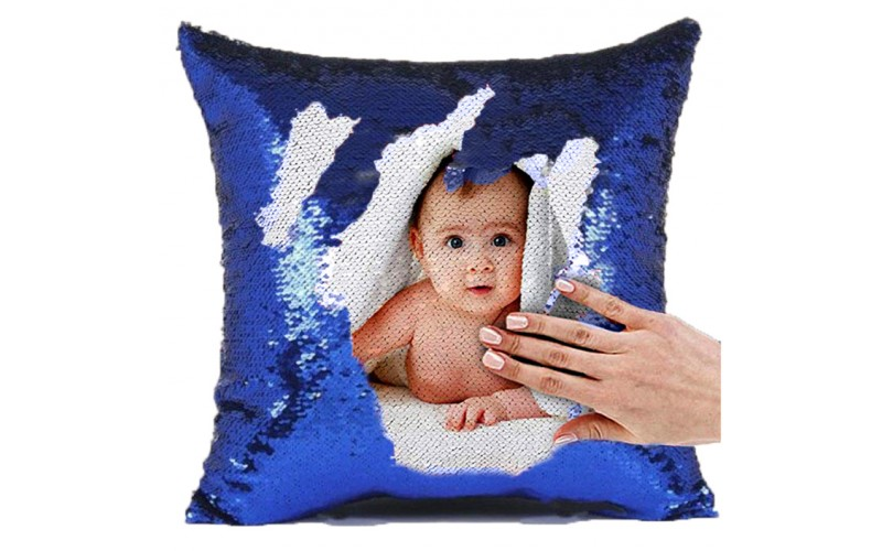 Buy Or Send Personalized Sequin Cushion Magic Reveal Photo