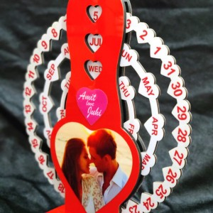 Love Special Infinity Calendar backview