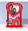 Personalized Photo Collage Table Stand Couple with Name Art 1 FREE SHIPPING
