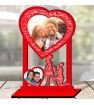 Personalized Photo Collage Table Stand Couple with Name Art 3 FREE SHIPPING