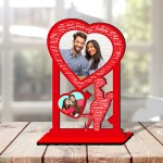 Personalized Photo Collage  Couple with Name Art 6