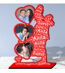 Personalized Photo Collage Table Stand with Name Art FREE SHIPPING
