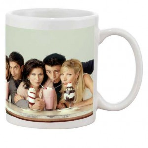 White radium glow in dark personalized photo mug
