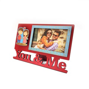 You and Me Photo Frame for Gift backview