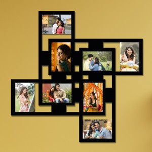 Wooden printed photo collage WC-011