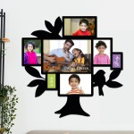 Wooden printed photo collage WC-014
