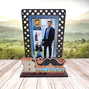 Golden Work Best Brother Personalised Gift