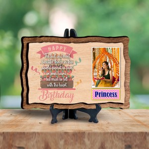 Personalized Wooden Photo Frame - Birthday 1