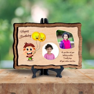 Personalized Wooden Photo Frame - Birthday 2