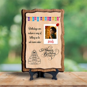 Personalized Wooden Photo Frame - Birthday 3