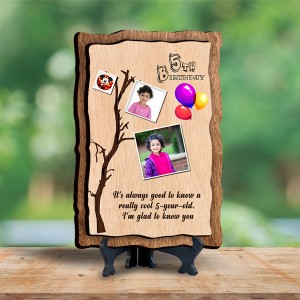 Personalized Wooden Photo Frame - Birthday 4