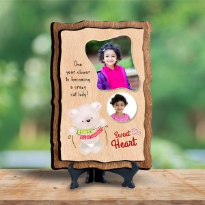 Personalized Wooden Photo Frame - Birthday 5