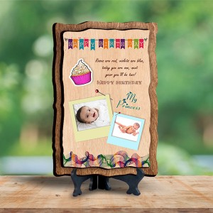 Personalized Wooden Photo Frame - Birthday 7