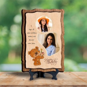 Personalized Wooden Photo Frame - Birthday 8