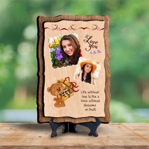 Personalized Wooden Photo Frame - Birthday 9