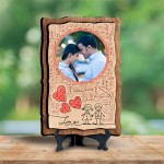 Personalized Wooden Photo Frame - Design Love