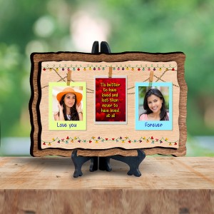 Personalized Wooden Photo Frame - Love 1