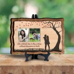 Personalized Wooden Photo Frame - Love 3